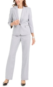 Le Suit Striped Pantsuit