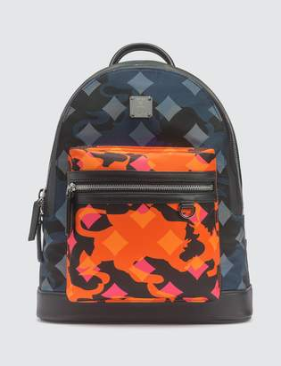 MCM Dieter Backpack in Munich Lion Camo
