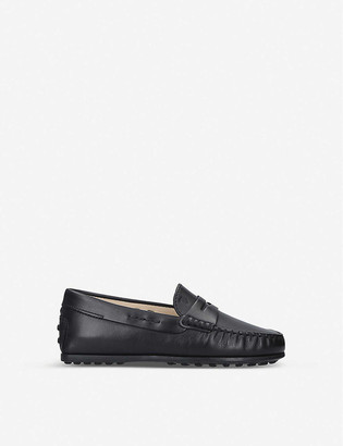 Tod's Nuovo City Gommini leather driving shoes
