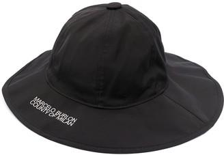 Marcelo Burlon County of Milan Logo-Print Bucket Hat