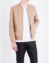 The Kooples Cotton-blend Bomber Jacket