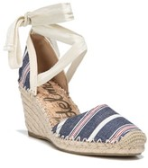 Sam Edelman Women's Patsy Wraparound Espadrille Wedge