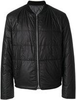 Maison Margiela collarless padded jacket - men - Polyester/Goose Down - 48