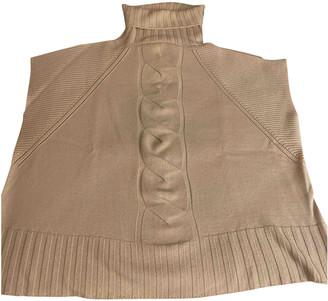 Flavio Castellani Beige Wool Knitwear