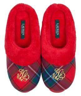 Lauren Ralph Lauren So Soft Plush Holiday Slippers