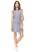 Milly Gingham Shirting Sleeveless Avery Dress