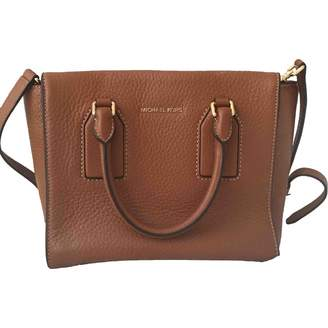 Michael Kors Mercer Brown Leather Handbags