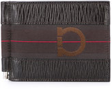 Salvatore Ferragamo textured logo wallet - men - Calf Leather - One Size