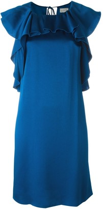 Lanvin Ruffled Shift Dress