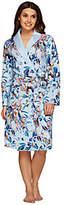 Isaac Mizrahi Live! Confetti Floral Printed Robe