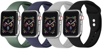 Posh Tech Multi Apple Watch Replacement Band - Set of 4 - 42mm/44mm