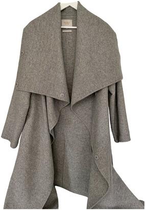 Eudon Choi Grey Wool Coats