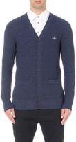Vivienne Westwood Square-knit wool blend cardigan
