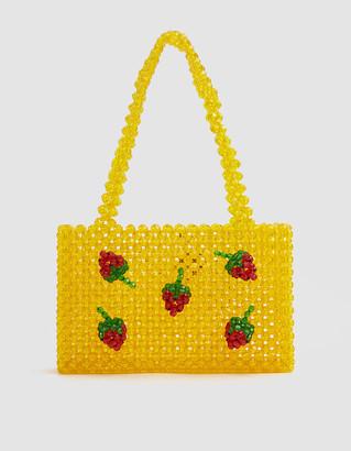 Susan Alexandra Ichigo Mini Tote Bag in Yellow