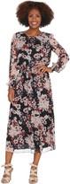 Vince Camuto Timeless Blooms Cinch Waist Dress