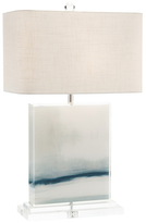 John-Richard Collection Enigma Linen Table Lamp