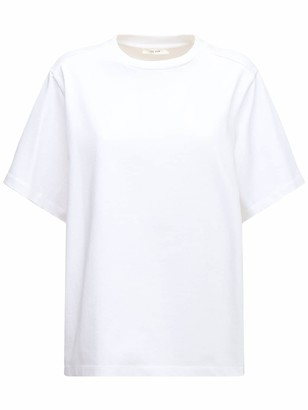 The Row Over Cotton Jersey T-shirt