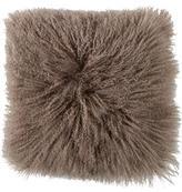 Adrienne Landau Mongolian Lamb Fur Pillow w/ Tags