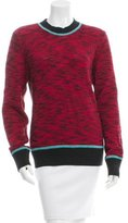 Jonathan Saunders Patterned Mohair-Blend Sweater