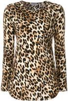 Alberto Biani leopard print top