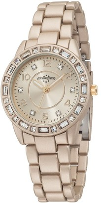 Chronostar Watches Chronostar Pop Women's Quartz Watch with Rose Gold Dial Analogue Display and Rose Gold Strap R3753117506