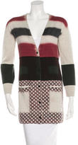 Peter Pilotto Striped Wool Cardigan