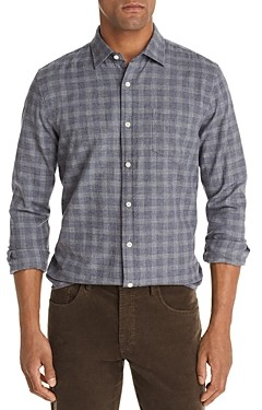 The Men's Store at Bloomingdale's Check Print Classic Fit Flannel Shirt - 100% Exclusive