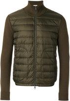 Moncler padded cardigan - men - Acrylic/Polyamide/Virgin Wool - M