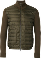 Moncler padded cardigan - men - Acrylic/Polyamide/Virgin Wool - S