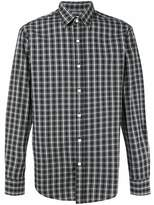Hardy Amies Madras checked cotton shirt