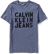 Calvin Klein Jeans Military Flocked Tee