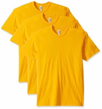 Marky G Apparel Men's Poly-Cotton USAMade Crewneck T-Shirt (3 Pack)