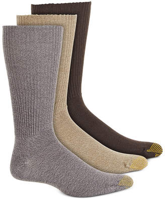 Gold Toe Adc Acrylic Fluffies 3 Pack Crew Casual Men Socks