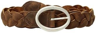 Leather Rock Ria Belt (Tobacco) Women's Belts