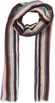 Allude Multicolor Striped Scarf w/ Tags