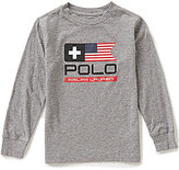 Ralph Lauren Little Boys 2T-7 Flag-Inspired Graphic Tee