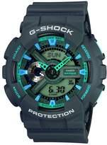 G-Shock Casio Casio Men's GA110TS-8A2 Grey Rubber Quartz Watch