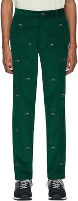 Aimé Leon Dore Green Corduroy Range Trousers