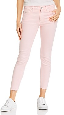 Aqua Cropped Skinny Jeans in Light Pink - 100% Exclusive