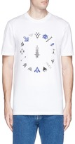 Lanvin 'Destiny' tribal print T-shirt