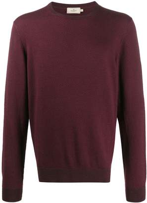 Hackett striped crew neck jumper