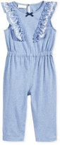 First Impressions Flutter-Sleeve Jumpsuit, Baby Girls (0-24 months), Only at Macy's