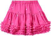 Joules Little Joule Girls' All-Over Star Tutu Skirt, True Pink