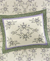 Martha Stewart Collection Valencia Eyelet Standard Sham
