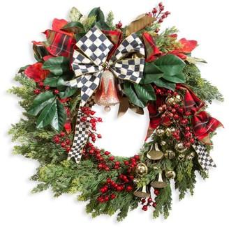 Mackenzie Childs Deck The Halls Wreath