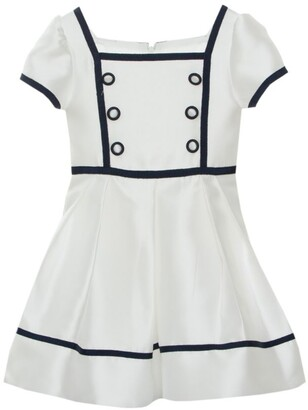 Patachou Sailor Button Dress (4-12 Years)