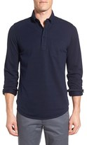 Bonobos Men's Slim Fit Long Sleeve Pique Polo