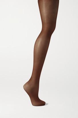 HEIST The Nude High 070 Tights - Dark brown