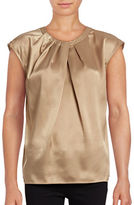 Kasper Suits Charmeuse Sleeveless Top