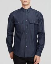 Theory Barham C Turini Button-Down Shirt - Slim Fit